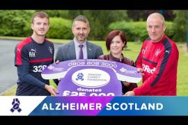 Players Share Their Memories For Alzheimer Scotland